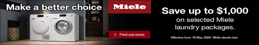 Miele $300 off laundry