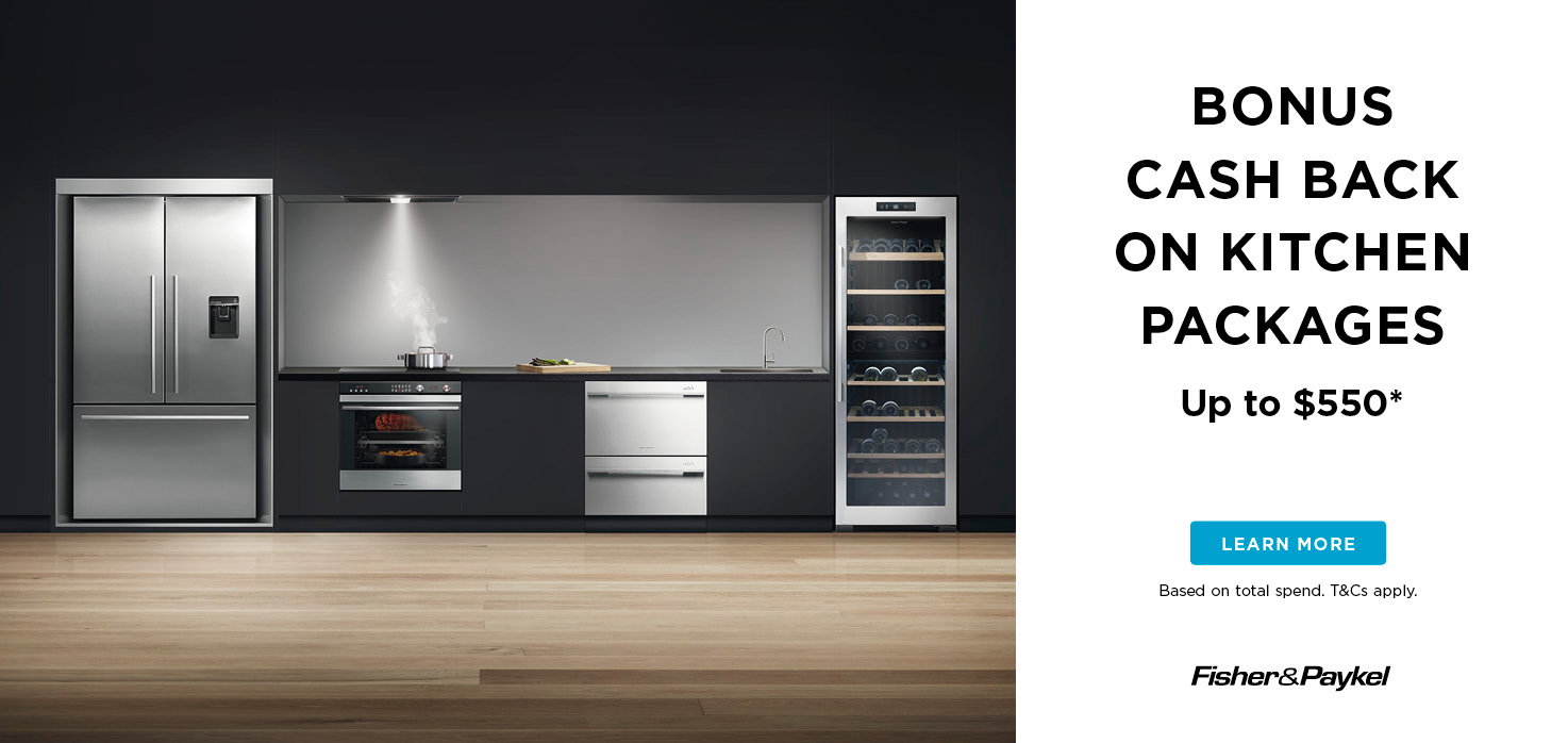 Fisher & Paykel Cooking Cashback