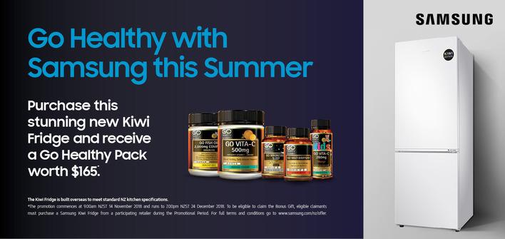 Samsung Summer Fridge Promo