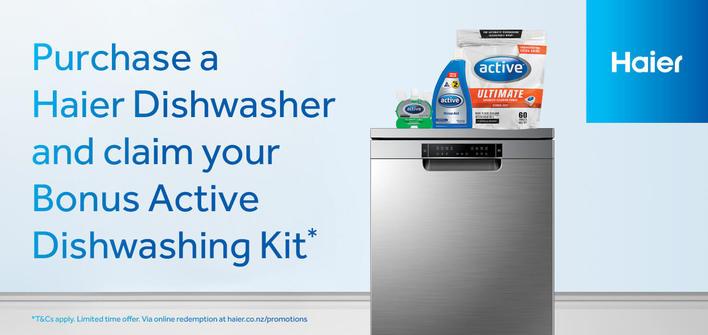Haier Dishwasher Bonus