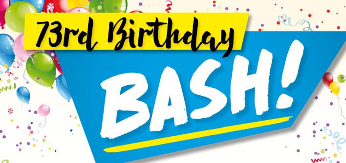 Birthday mailer - main tile