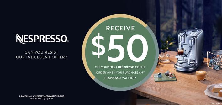 Nespresso 30/10/19 - 2/2/2020