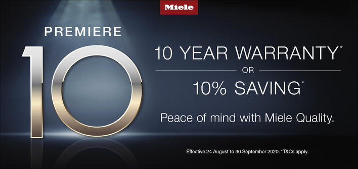 Miele Promo- August - September 2020