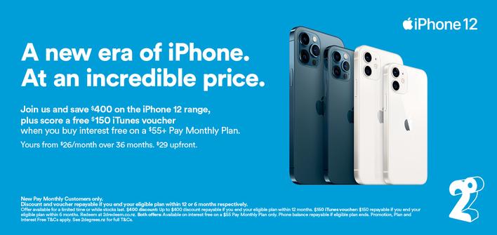 Iphone 12 - 2degrees Promo
