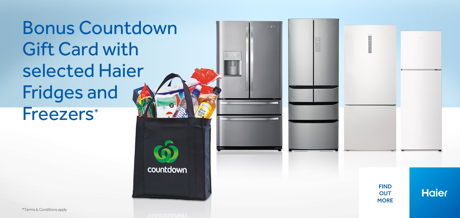 Haier Countdown Promo
