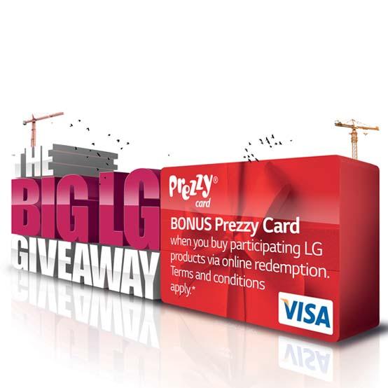 LG prezzy card promo