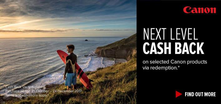 Canon Next Level Summer Cash Back