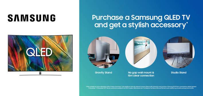 Samsung QLED Promo