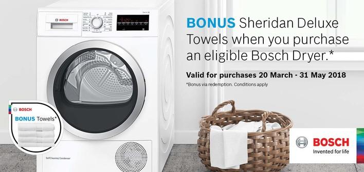 Bosch Dryer Promotion