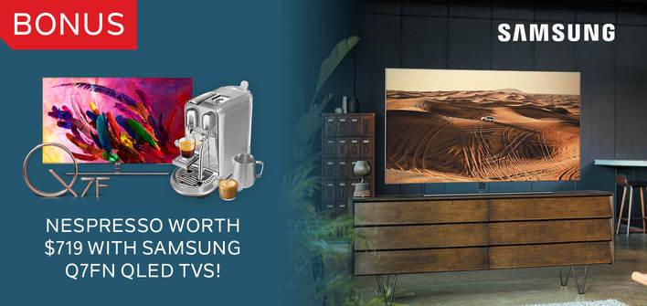 Samsung Q7F Bonus Nespresso