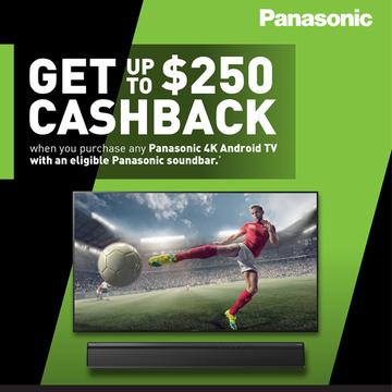 Panasonic bonus cashback promo 600