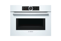 Bosch Compact Oven with Microwave - White