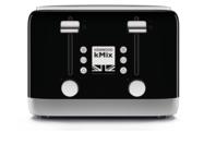 Kenwood kMix 4 Slice Toaster - Black