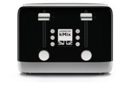 Kenwood kMix 4 Slice Toaster - Black (Display)