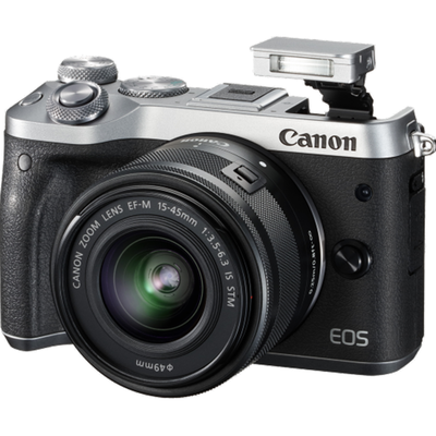 Canon M6 with 15-45mm Silver