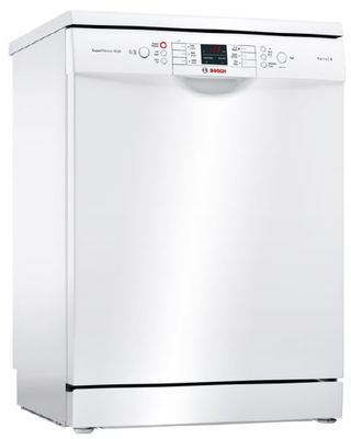 Bosch 60cm White Freestanding Dishwasher