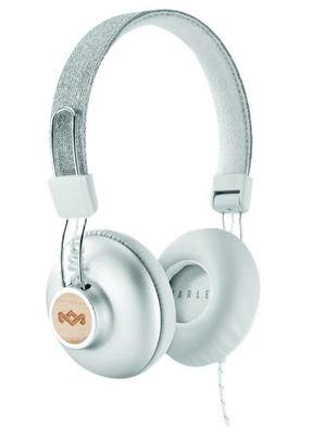 Marley Positive Vibration 2.0 On-Ear Headphones - Silver