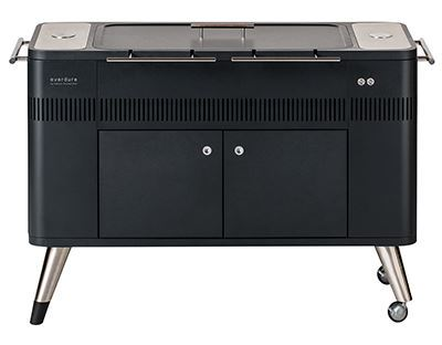 HUB Electric Ignition Charcoal Barbeque - Everdure by Heston Blumenthal
