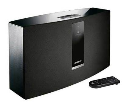 bose soundtouch 30 series iii wireless music system black buy online heathcote appliances. Black Bedroom Furniture Sets. Home Design Ideas