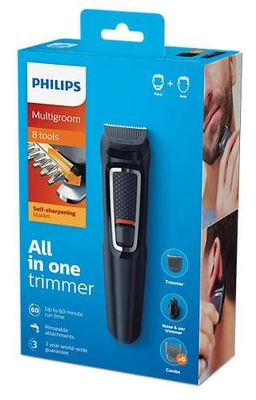 Philips multigroom 8 in 1 trimmer mg3730 15 4