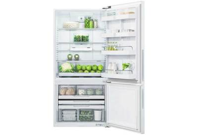 Fisher and paykel activesmart fridge 790mm bottom freezer 519l rf522brpw6