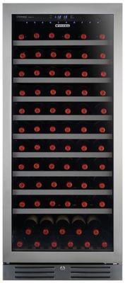 Vintec 121 bottle single zone wine cabinet v110sges3 2