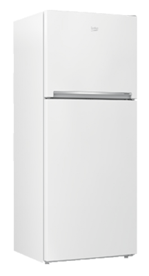 Beko 424L Top Mount Fridge/Freezer White