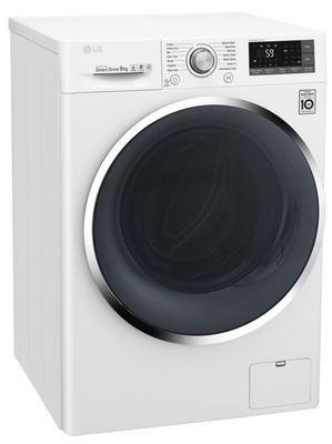 Lg 9kg front load washing machine wd1409ncw 2