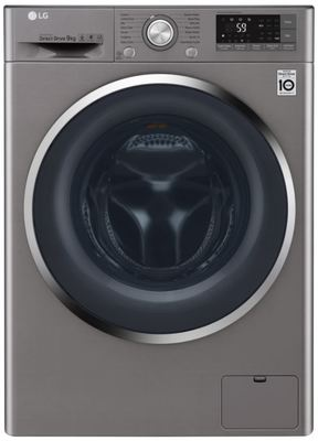 Lg 9kg front load washing machine wd1409nce 3