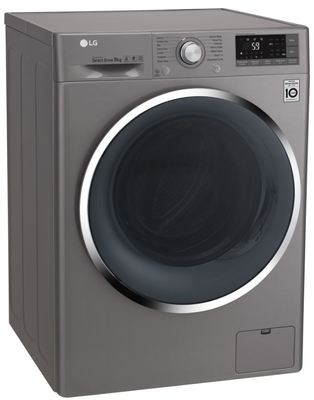 Lg 9kg front load washing machine wd1409nce 4