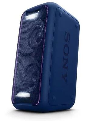 Sony High Power Home Audio System Blue