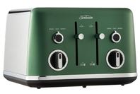 Sunbeam 4 Slice Gallerie Collection Toaster - Green Forest