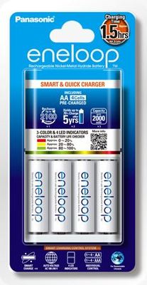 Panasonic eneloop Rechargeable Charger and Batteries