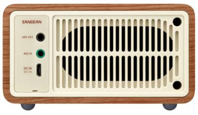 Sangean wr 7 wooden cabinet bluetooth speaker 2
