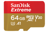 SanDisk 64GB Extreme microSD UHS-I Card