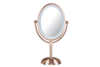Conair Reflections LED Mirror Rose Gold