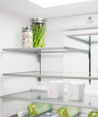 Fisher paykel activesmart fridge 905mm quad door with ice water 605l rf605qduvx1 5