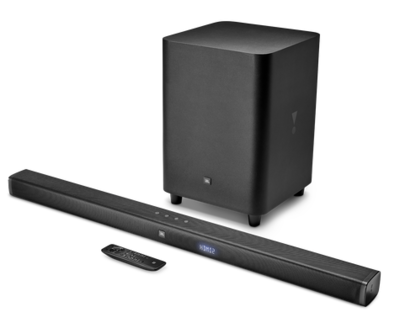 JBL 3.1-Channel 4K Ultra HD Soundbar with Wireless Subwoofer