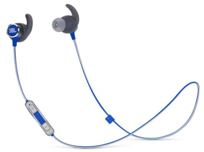 JBL Reflect Mini 2 Sweatproof Wireless Sport In-Ear Headphones Blue