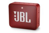 JBL GO 2 Portable Bluetooth Speaker Ruby Red