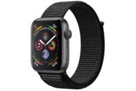 Apple Watch Series 4 GPS 44mm Space Grey Aluminium Case with Black Sport Loop