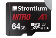 Strontium 64GB Nitro A1 MicroSD Card 100MB/s