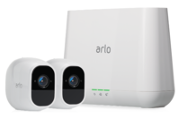 Netgear Arlo Pro 2 Smart Security System with 2 Cameras