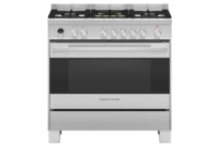 Fisher & Paykel 90cm Freestanding Dual Fuel Cooker Stainless Steel