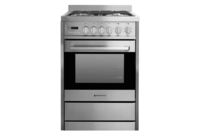 Parmco 600mm 70 Litre Combination Freestanding Stove Stainless Steel
