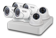 Secure Homes High Definition Video Security System with 6 Cameras