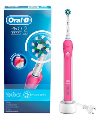 Oral B Pro 2000 Electric Toothbrush Pink