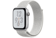 Apple Watch Nike+ Series 4 GPS 44mm Silver Aluminium Case with Summit White Nike Sport Loop