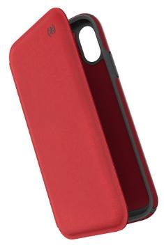 Speck iPhone XR Folio Case Red/Grey