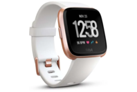 Fitbit Versa Watch (White/Rose Gold)